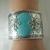 Turquoise Bracelet, boho bohemian hippie southwestern country western handmade
