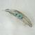 Turquoise Barrette, feather southwestern country western southwest boho bohemian