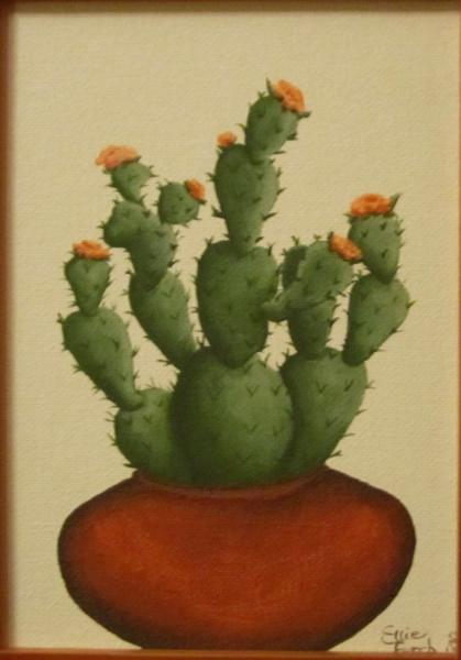 ZE-OAP-121 - POTTED PRICKLY-PEAR CACTUS