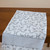 Kitchen Towel cotton 100% with Grey Jacquard Print. Cotton Rich Linen. Gift for