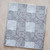 Kitchen Towel cotton 100% with Geometric Black and White Print. Cotton Rich