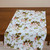 Kitchen Towel cotton 100% with Flowers on Branches Print. Cotton Rich Linen.