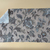 Kitchen Towel cotton 100% with Beige Flowers Print. Cotton Rich Linen. Gift for