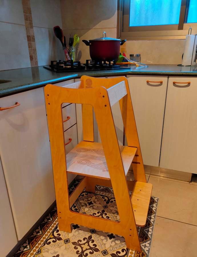1 Activity tower wood stool, mommy's helper, children stool, toddler stool,