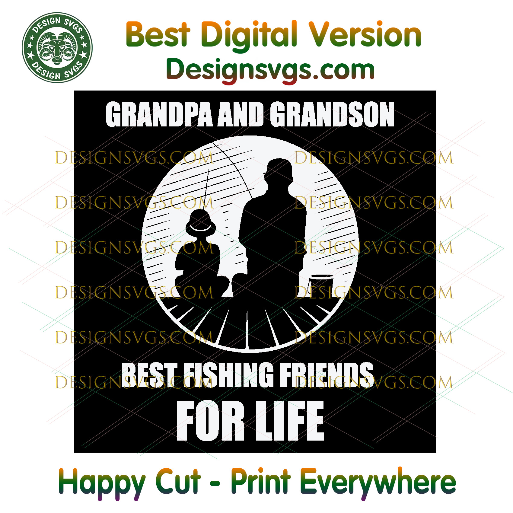 Download Grandpa And Grandson Best Fishing Friends By Thomas9designs On Zibbet