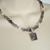 Amethyst Necklace handmade jewelry victorian art deco edwardian art nouveau