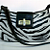 SALE!!!  Zebra Hand Painted Short Shoulder Purse