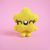 TINY TOY Yellow Star , tiny collectible star, felted toy art, felted star,