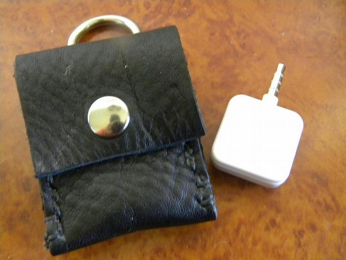 Square Card Reader Key Chain Pouch