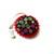 Tape Measure  Rainbow Yarn Balls on Black Small Retractable Measuring Tape