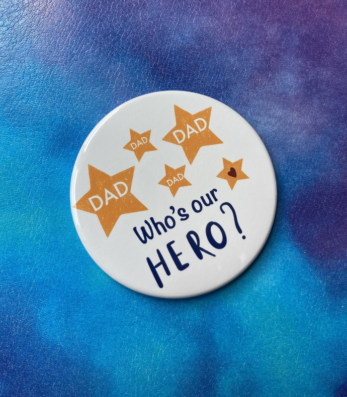 Who Is Our Hero Magnet