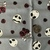 9x21 inch Halloween Remnant Fabric  - ALL SALES FINAL - DESTASH - USA Only