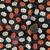 9x21 inch Pumkin Remnant Fabric  - ALL SALES FINAL - DESTASH - USA Only