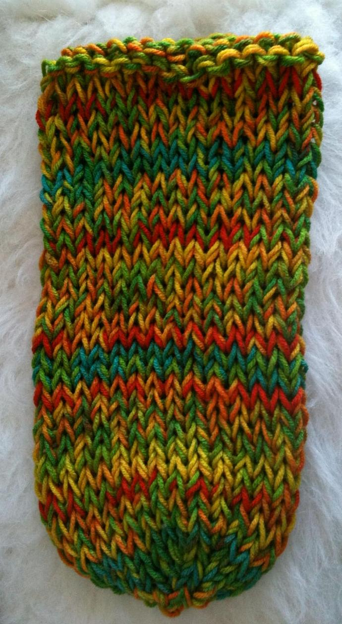 Baby Body Sock with Sweater Head Stem Top Beanie - Fruit Stripes