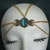 Triple Moon Circlet, handmade jewelry wiccan pagan wicca goddess witch