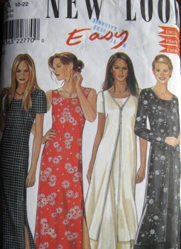 New Look Easy Pattern 6835 Two Dress and by alwaysdaddysgirl on Zibbet