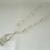 Pink Sea Glass Necklace, handmade jewelry boho bohemian beach nautical ocean