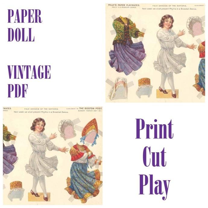 PDF Vintage Paper Craft