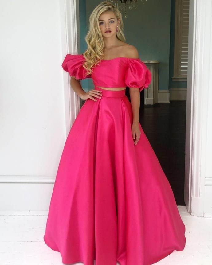 Sexy Off The Shoulder A-line Prom Dresses Long Prom Dresses,Cheap Prom Dresses,