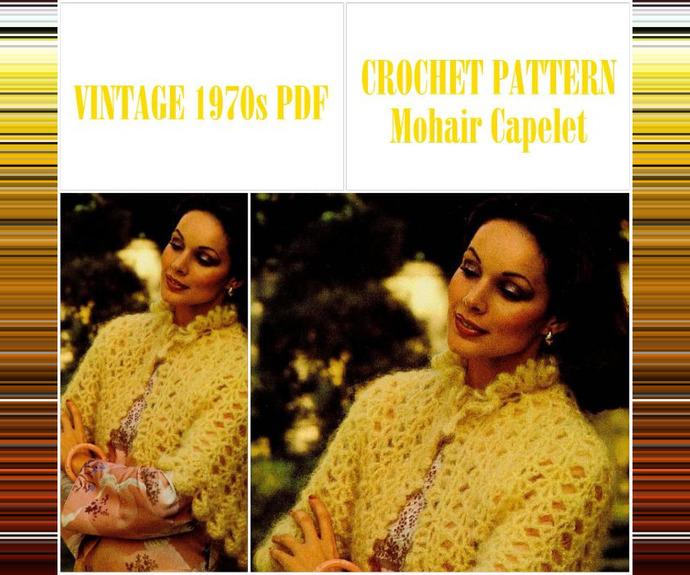 Copy of PDF Vintage Crochet Pattern