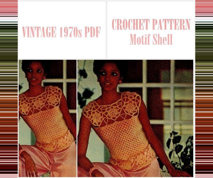 PDF Vintage Crochet Pattern