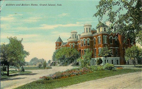 1910s Postcard Soldiers Sailors Grand Island Nebraska