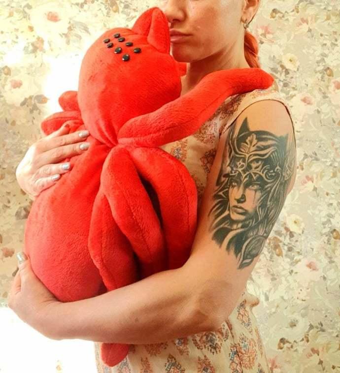 gigantic toy red large spide TARANTULA Huge plush spider big tarantula gigantic