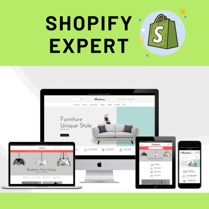 Copy of Profitable Dropshipping Shopify Website Business + Store Management +