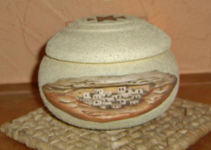 E-P-73 - PUEBLO KEEPSAKE JAR