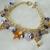 Celestial Charm Bracelet, handmade jewelry wiccan pagan wicca goddess witch moon