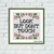 Look but don't touch funny sarcastic cross stitch pattern