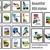 Set of 50 silhouettes states USA Modern Cross Stitch Pattern, nature, instant