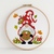 Amanita Gnome Cross Stitch Pattern Modern Counted Cross Stitch Pattern Mushroom