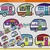 Assorted Camper Trailers Pattern Graph With Single Crochet Written