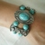 Turquoise Bracelet, handmade jewelry southwestern country western southwest boho