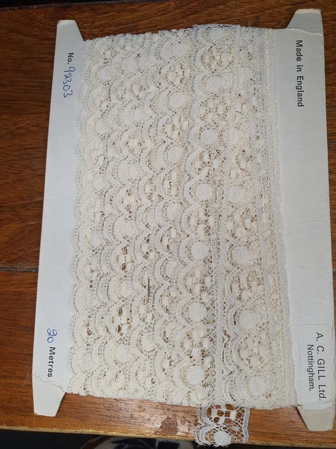 Vintage English lace