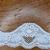 Ivory stretch raschel lace