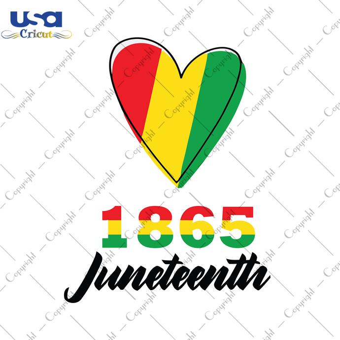 1865 Juneteenth Svg, Independence Day, Juneteenth Svg, Juneteenth Gift, Flag Day