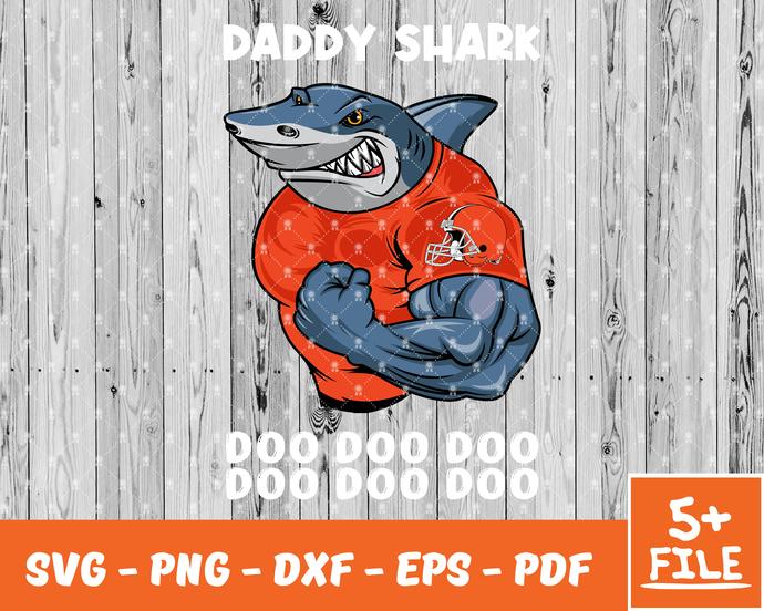 Chicago Bears Svg Bundle, Bears Svg, Chicago Bears Logo,Daddy Shark Svg