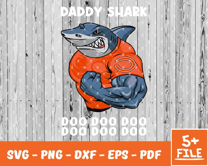 Cleveland Browns Logo, Cleveland Browns Bundle, Browns Svg, Daddy Shark Svg