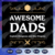 Awesome dads svg, Fathers day svg, father svg, fathers day gift, gift for papa,