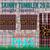 20oz Skinny Tumbler Design Plaid Leopard glitter,Straight & Tapered