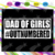 Dad Of Girls Outnumbered Svg, Dad Of Girls Svg, Fathers Day Svg, Fathers Day
