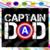Captain Dad svg, super dad, superhero dad shirt svg, father days svg, father day