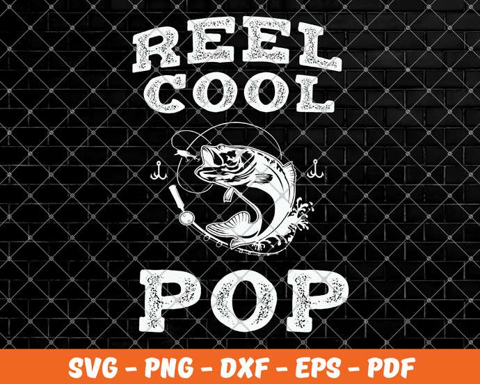 Download Reel Cool Pop Pop Svg Fishing Svg Bass Fishing By Spapure On Zibbet