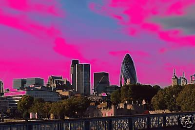 LONDON PINK CITY