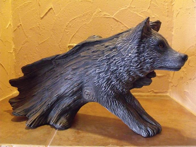R-C-WSL-01 Wolf Spirit from Log