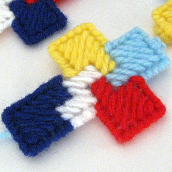 6 Autism Awareness Cross Ornaments Bookmarks