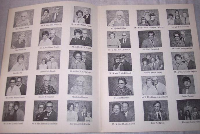 Salina Kansas St Johns Luther Church 1975 Membership Directory Book