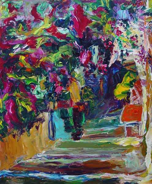 flower alleyway